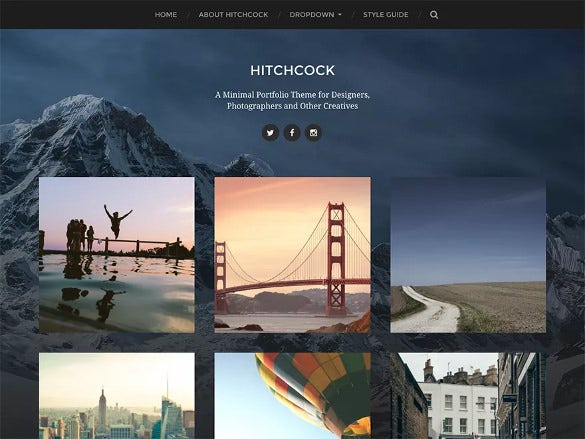designer free wordpress template