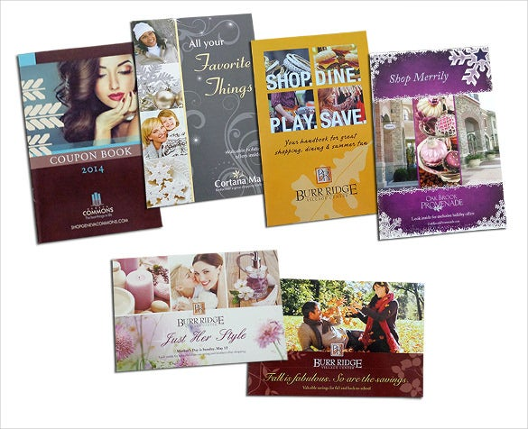 set of coupon book templates free download