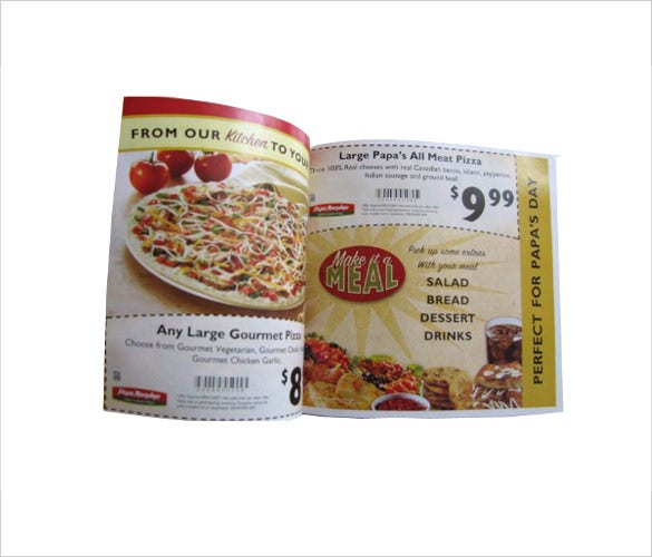 restaurant coupon book downloads