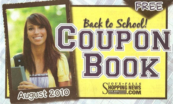 all purpose coupon book template download