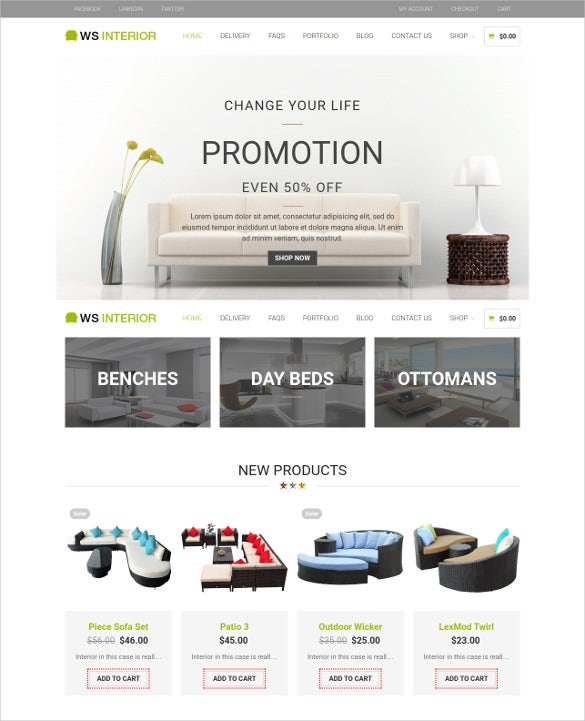 luxury interior wordpress theme