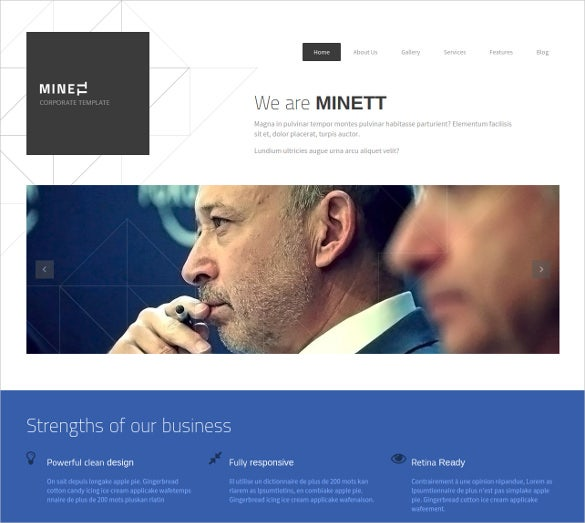 marketiing products non profit drupal template 12