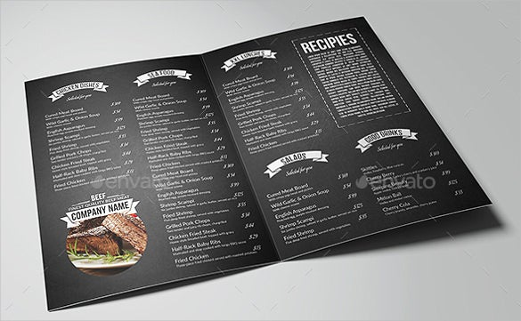 restaurant and bar menu pack ai illustrator eps format download