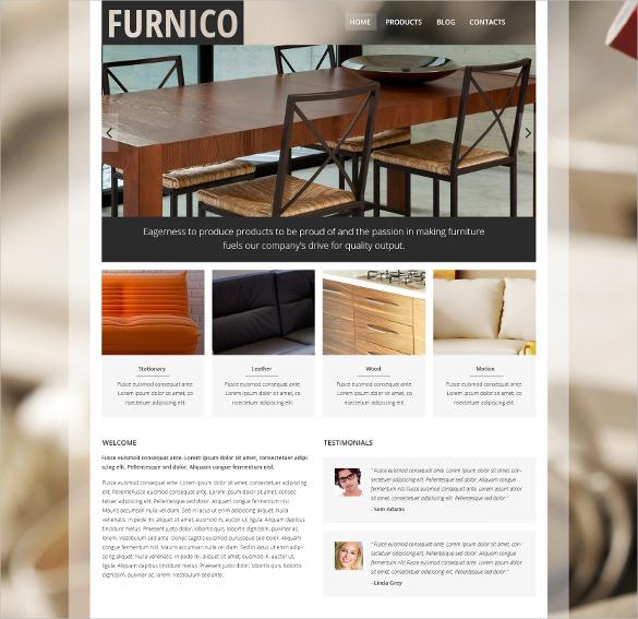 furnico furniture joomla template