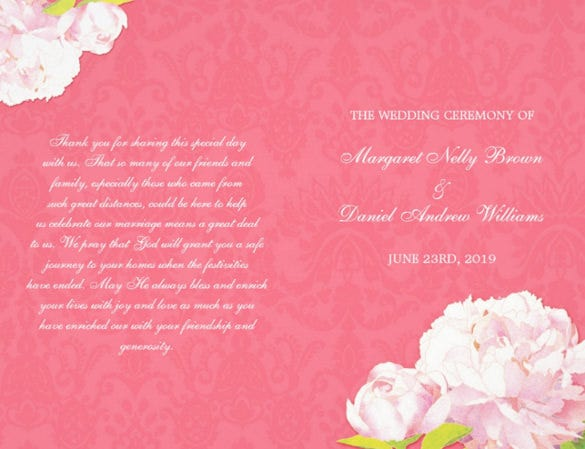 colorful background wedding flyer template download