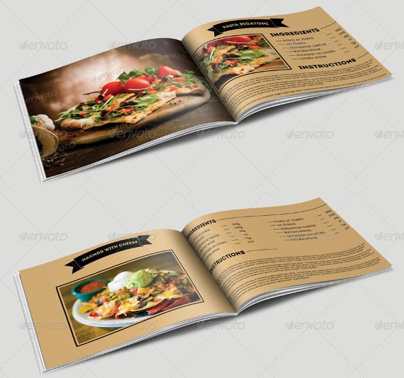 Cookbook template 31 free psd eps indesign word pdf for Free cookbook templates