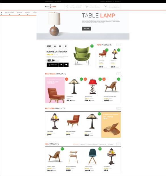 furniture interior joomla template
