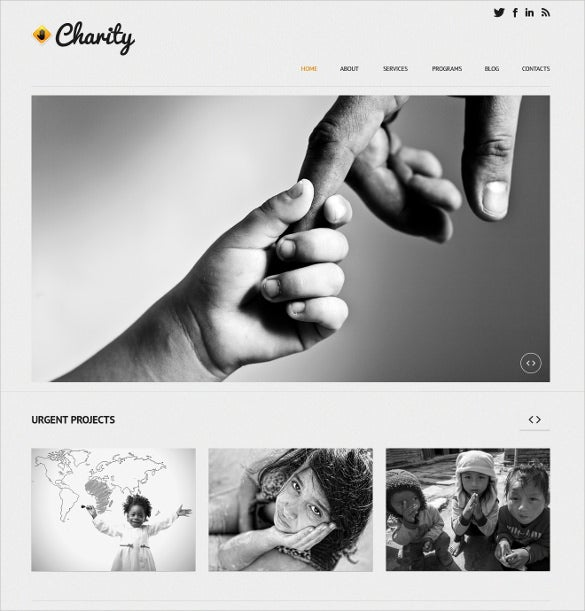 child charity non profit blog wordpress theme 75