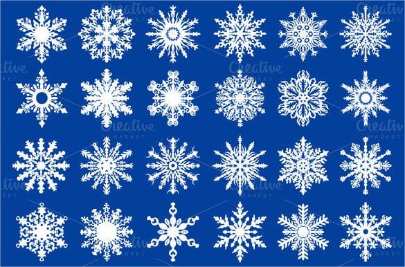vector snowflake
