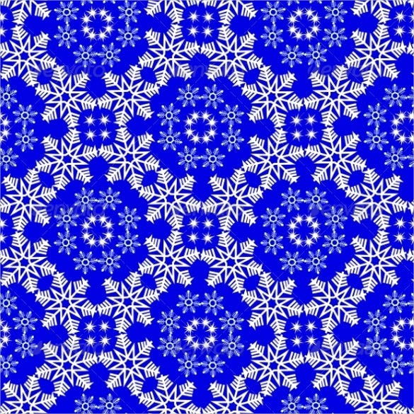seamless snowflakes pattern download