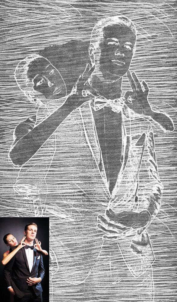 legendary chalk art