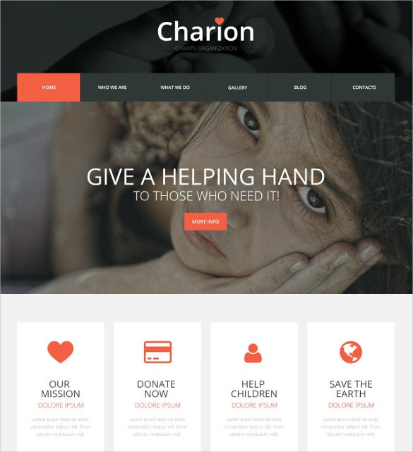 heart community non profit blog wordpress theme 75