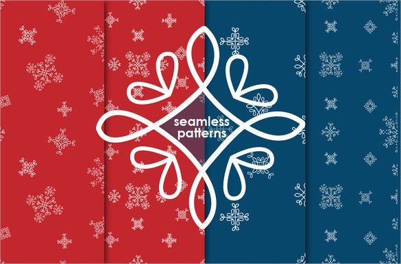4 snowflake pattern set download