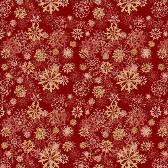 beautiful snowflake pattern set