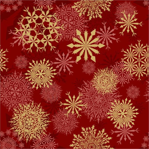 decoration snowflake seamless pattern set download