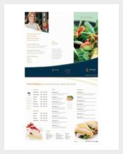 Free PDF Menu Template