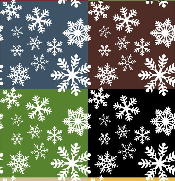 colorful snowflake pattern download