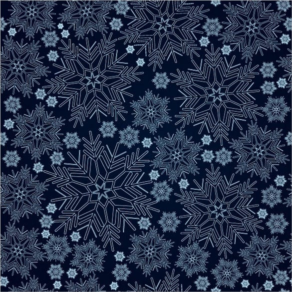 blue snowflake seamless pattern download