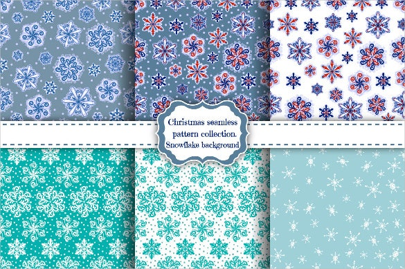 holiday snowflake pattern download