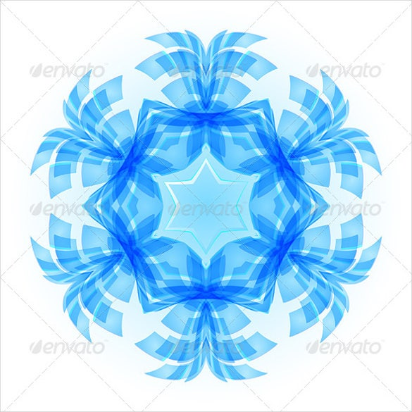 simple snowflake pattern download