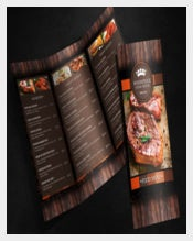 Sample Food Menu Template