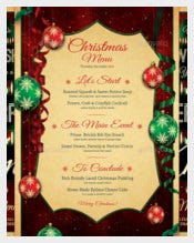 Premium Christmas Menu Flyer Template
