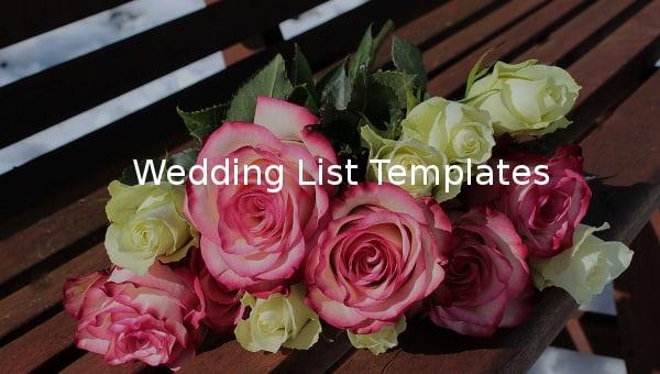 weddinglist