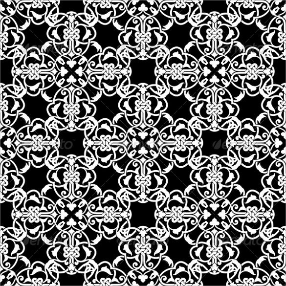 seamless black and white patterns