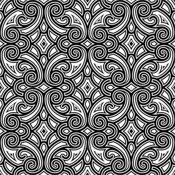 vintage black and white patterns