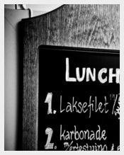 Sample Lunch Menu Template