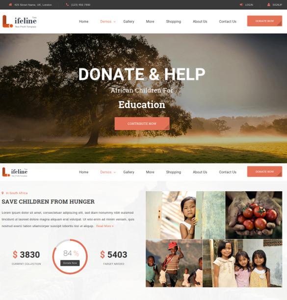 multipurpose non profit html template 17