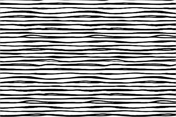 hand drawn lines black and white pattern