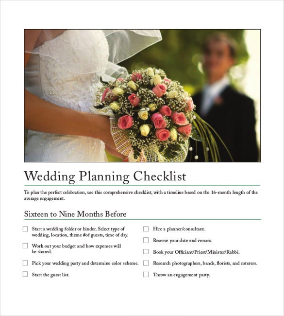 indian wedding check list template free download
