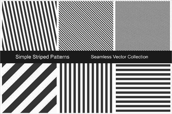 striped seamless black and white pattern