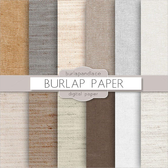 burlap digital paper texture download
