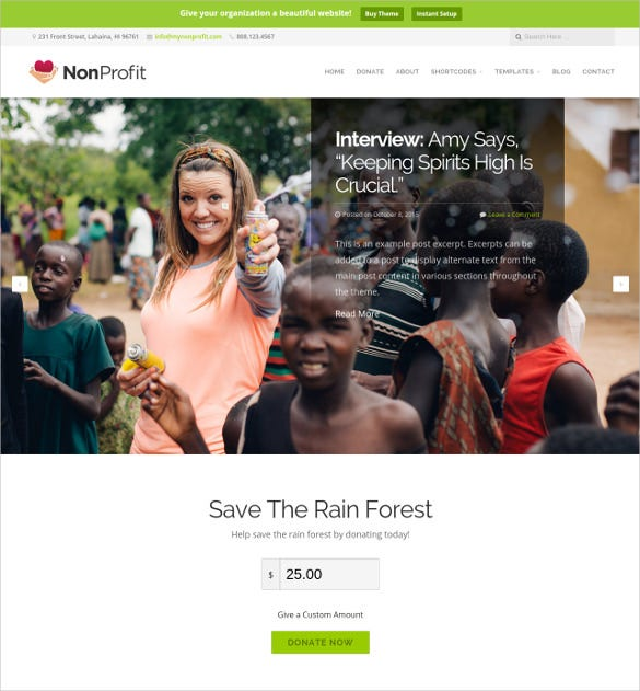 non profit organization blog theme 69