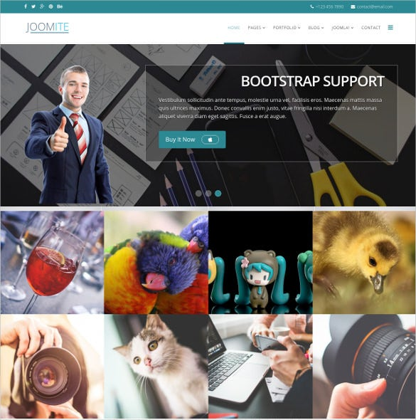 multipurpose commercial non profit joomla blog template 49