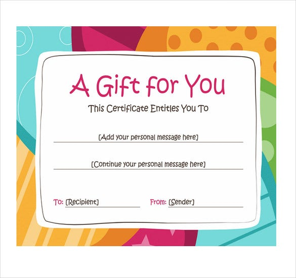 Gift Coupon Template Word File  Coupon Word Template