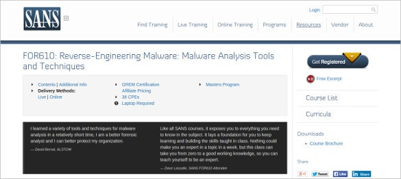 reverse engineering malware analysis tool