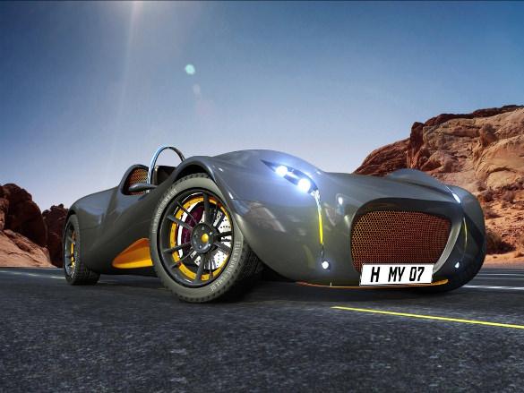 morey concept car wallpaper
