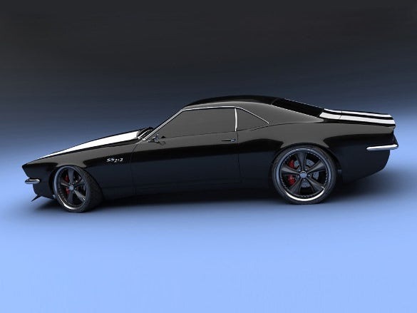 camaro concept ss car wallpaper