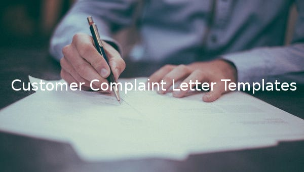 customercomplaintletter