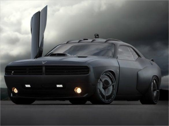 dodge challenger vapor car wallpaper