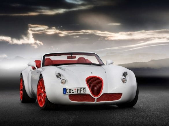 wiesmann roadster car wallpaper