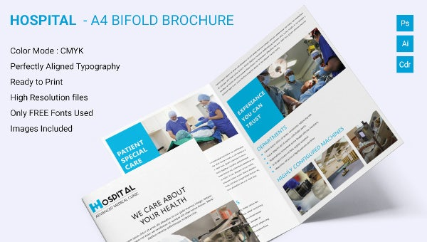 hospitala4bifoldbrochuretemplatedownload