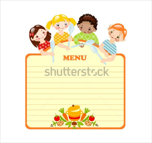 Fun Menu Templates How To Start A Meal Plan Free Weekly Menu