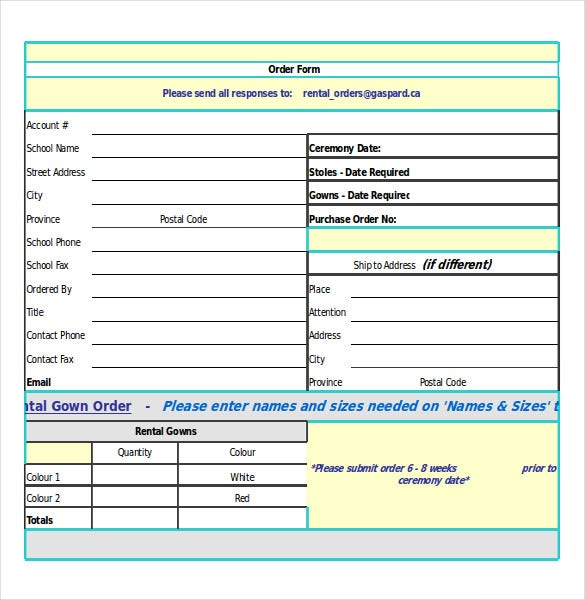 Order Confirmation Template Free Word Excel PDF Document - Simple invoice format in excel buy online pickup in store