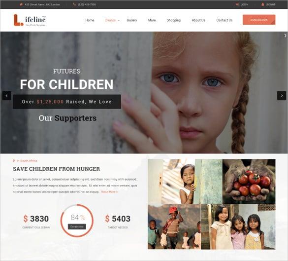 multipurpose ngo non profit html5 template 17