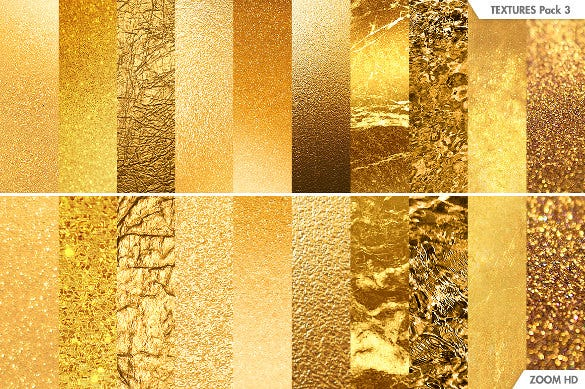 digital golden texture