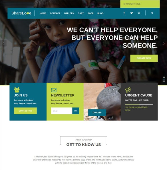 children charity non profit html5 wordpress theme 591